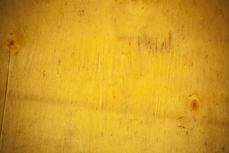 Gelbe Holzbrett Hintergrund. Standard-Bild - 44596323