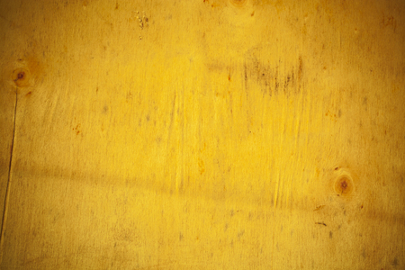 bark background: Yellow wooden board background.