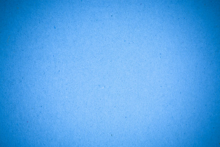 Blue paper recycled background.
