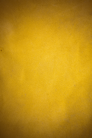 Brown real leather background. Stock Photo