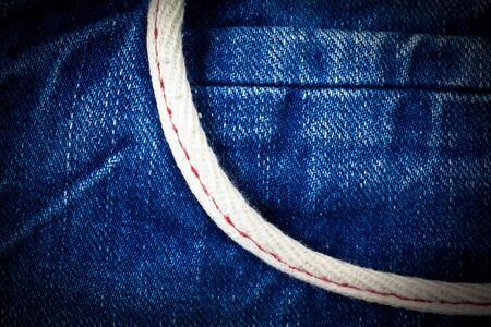 jeans pocket: Vintage Jeans pocket background.