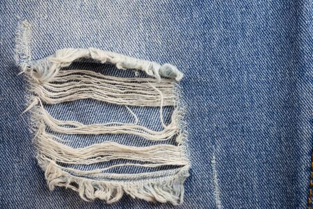 ripped jeans: Textures ripped jeans background.