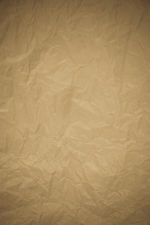 reciclaje papel: Arrugado fondo de reciclaje de papel. Foto de archivo