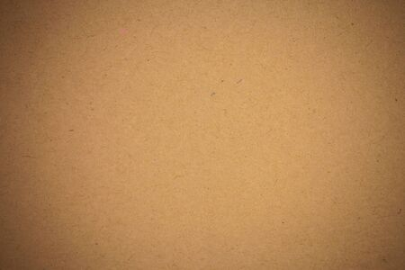 cardboard texture: Brown craft paper background. Stock Photo