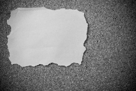 cork: Sticky note on cork board