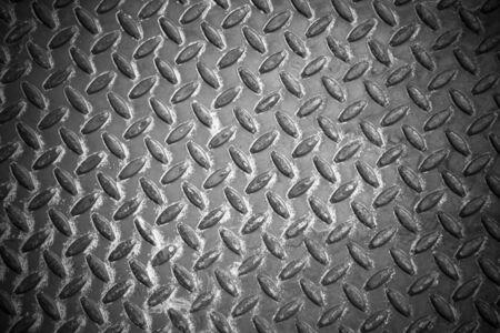 nonslip: Metal floor sheet non-slip surface.
