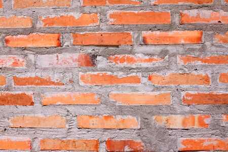 paredes de ladrillos: La textura de ladrillo, ladrillo la pared de fondo. Foto de archivo