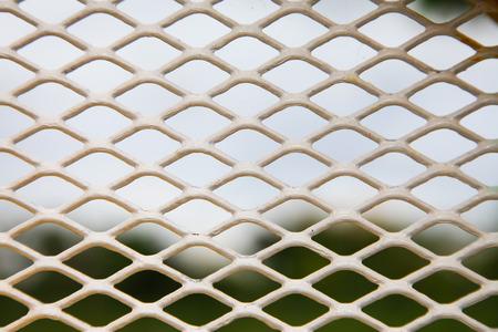 mesh: Steel mesh background. Stock Photo