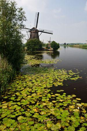traditional windmill: Traditional windmill of the Netherlands