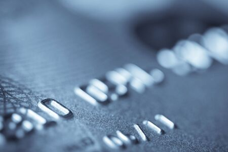 expires: Macro shoot of a credit card. Very shallow depth of focus. Can be used as a background