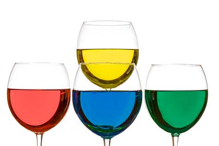 Colorful Drinks Stok Fotoğraf