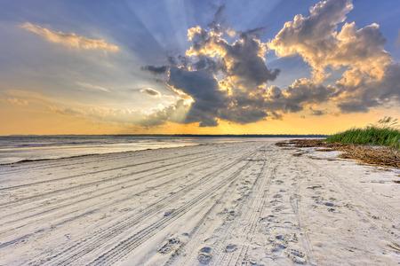 testa: Puesta de sol en Hilton Head Island