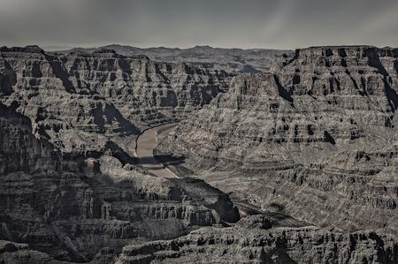 View of Grand Canyon, Arizona west rim.