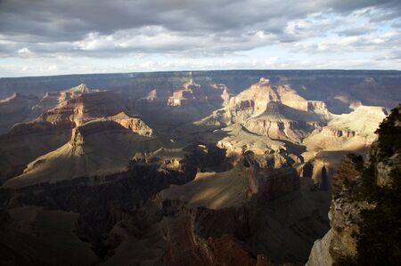 hopi: Grand Canyon vista da Hopi Point - paesaggio formato Archivio Fotografico
