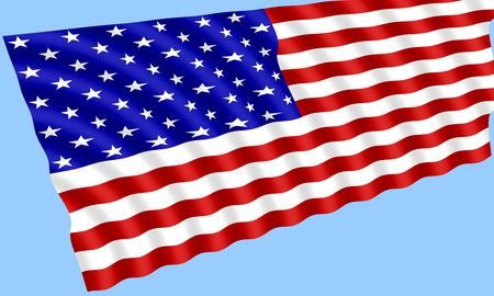 blazonry: Stars and Stripes - the Amerrican Flag