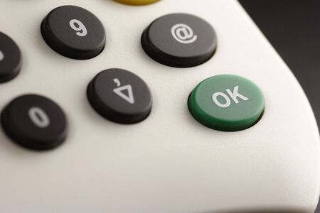 details of a card reader for internet banking Stock Photo - 799987