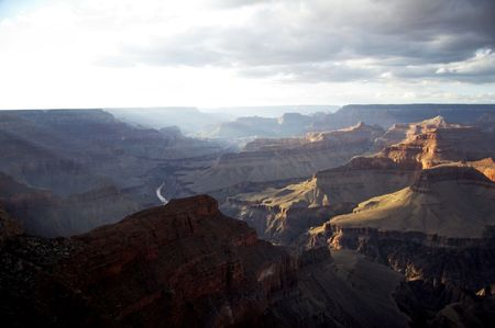 hopi: Grand Canyon view from Hopi Point - landscape format