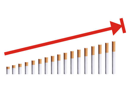 consume: growing consume of cigarettes