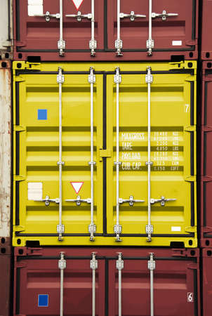 stack of container - all company names, copyrights and trademarks are disposed Stock Photo - 802134