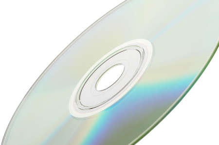 Single DVD isolated on white background - landscape format Stock Photo - 809973