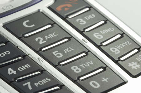 keypad of mobile phone with handy camera photo