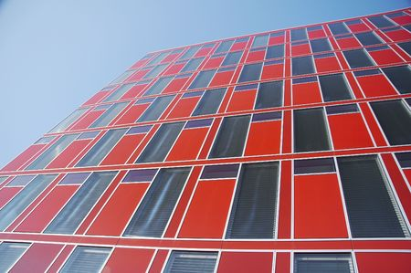 office building in the city of d�sseldorf, germany photo
