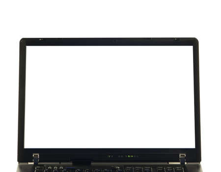 photo of object s: notebook isolated with white screen, place for text, signs or picture