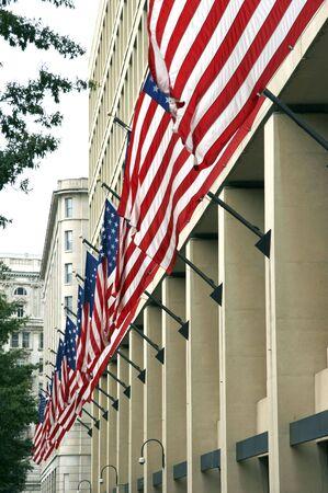 fbi: FBI, J. Edgar Hoover Building, Washington DC, USA  Banque d'images