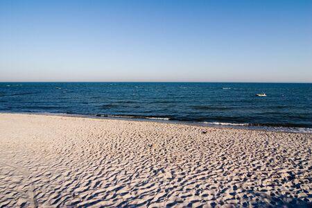 furlough: surf at coastline, baltic sea, germany Stock Photo