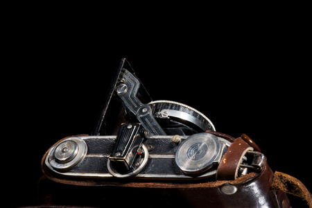 Old Camera with bellow Stock Photo - 1490797