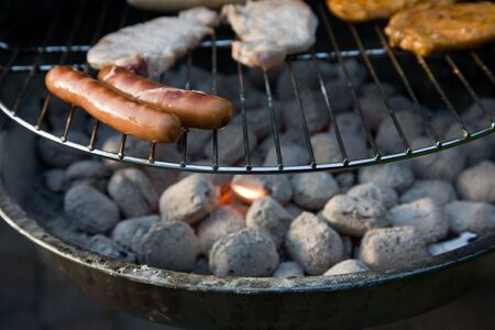 ingest: Barbecue in the garden