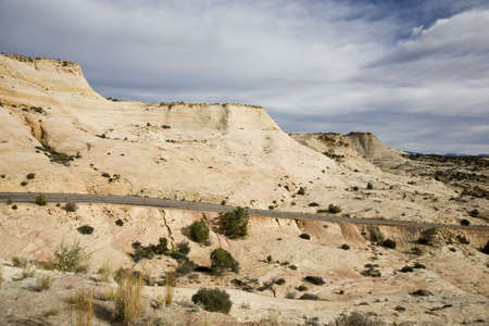 aloneness: Road in Grand Staircase-Escalante National Monument