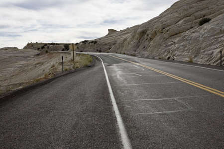 Road in Grand Staircase-Escalante National Monument Stock Photo - 2339000