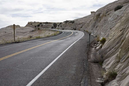 overburden: Road in Grand Staircase-Escalante National Monument
