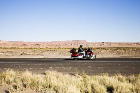 Route 89 in Arizona, USA near Page