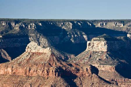 hopi: Vista dal punto del hopi nel grande canyon (orlo del sud)
