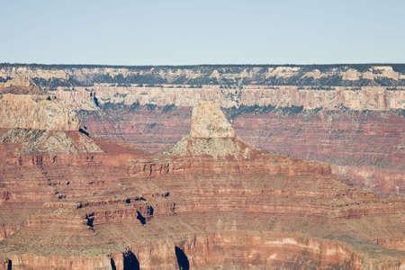 hopi: Vista da Hopi Point nel Grand Canyon (South Rim)  Archivio Fotografico