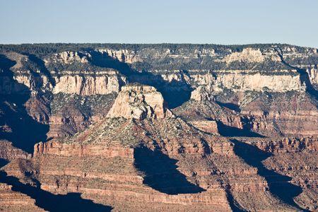 hopi: Vista da Hopi Point in Grand Canyon (South Rim) Archivio Fotografico