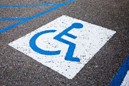 RESERVED FOR HANDICAPPED USA
