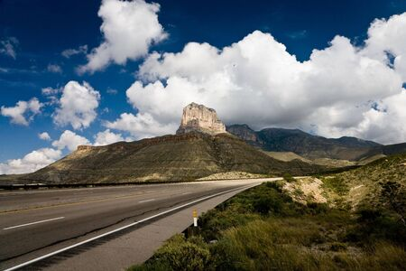 El Capitan, Guadalupe Mountains National Park in Texas, USA photo