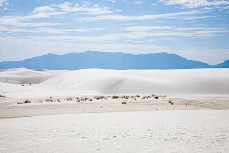 White Sands National Monument in New Mexico, USA Stock Photo - 3806266