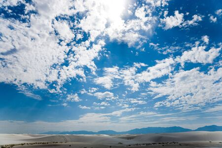 White Sands National Monument in New Mexico, USA Stock Photo - 3806271