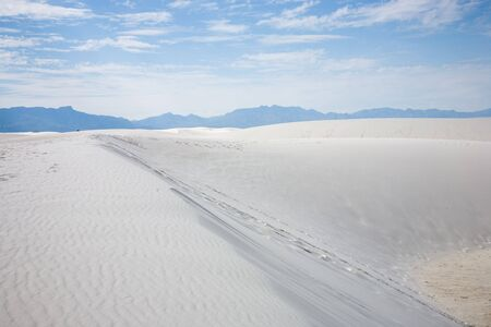 White Sands National Monument in New Mexico, USA Stock Photo - 3806265