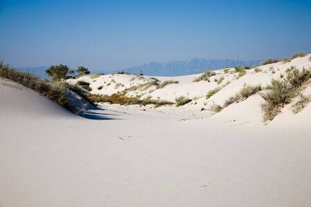 White Sands National Monument in New Mexico, USA Stock Photo - 3832553