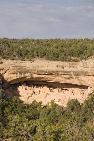 Cliff Palace, Mesa Verde National Park in Colorado, USA photo