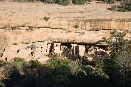 Spruce Tree House, Mesa Verde National Park in Colorado, USA photo