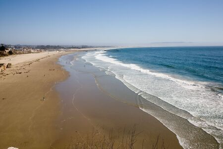 California sand beach near Pismo Beach USA