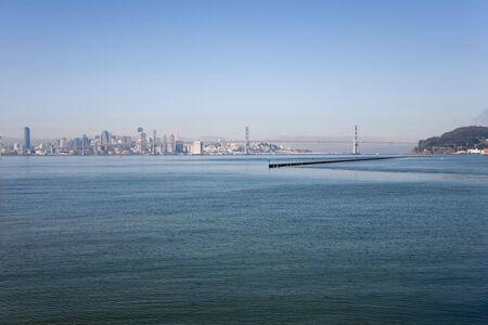 Oakland Bay Bridge, San Francisco in California, USA photo