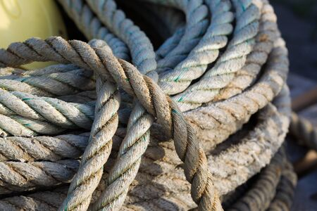 natural fibre rope Stock Photo - 12730976