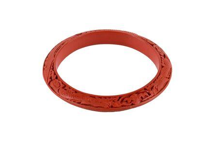 wristlets: Red bracelet alpha